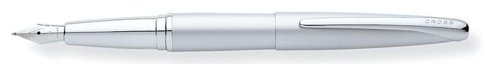 Cross Fountain pen, ATX  serie Satin chrome