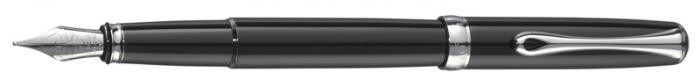Diplomat  Fountain pen, Excellence B serie Black CT