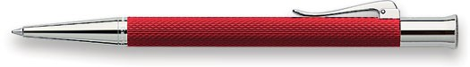Faber-Castell Ballpoint pen, Guilloche Resin serie Red