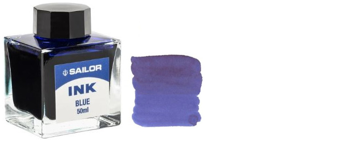 Sailor ink bottle, Refill & ink serie blue ink