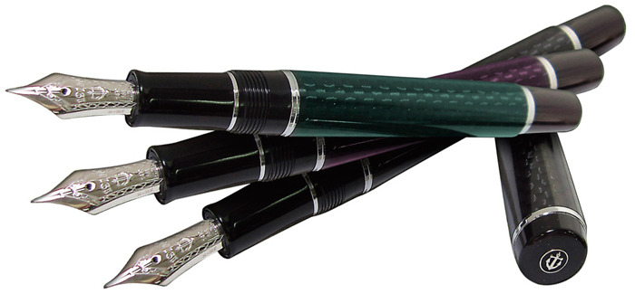 Stylo plume Sailor pen, série Carbofine II Bordeaux Ct