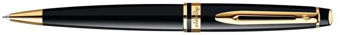 Waterman  Ballpoint pen, Expert New Generation series Black Laquer Gt