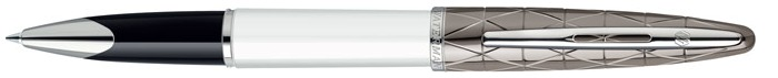 Waterman  Roller ball, Carène Deluxe  Contemporary series White