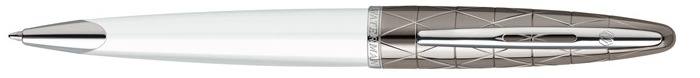 Waterman  Ballpoint pen, Carène Deluxe Contemporary series White