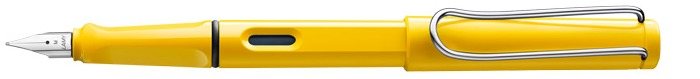 Lamy Fountain pen, Safari series Yellow Chrome Clip (Without pump)