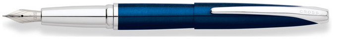 Cross Fountain pen, ATX series Translucent Blue