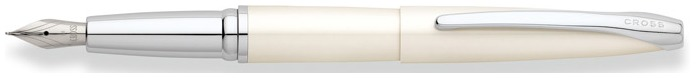 Cross Fountain pen, ATX series Pearlescent White