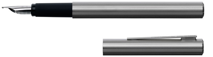 Porsche Design Fountain pen, P'3125 Slim line series Titanium