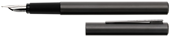 Porsche Design Fountain pen, P'3125 Slim line series Graphite