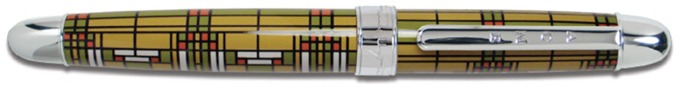Acme Writing Tools Roller ball, Frank Lloyd Wright serie Multicolor