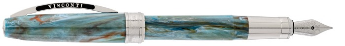 Visconti Fountain pen, Van Gogh Impressionist's series Cyan (Portrait Blue)