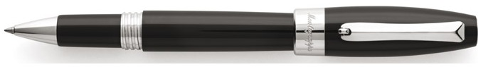 Montegrappa Roller ball, Fortuna series Black/Palladium