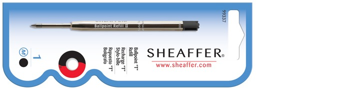 Sheaffer Ballpoint refill, Refill & ink series Black ink
