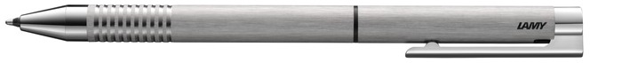 Lamy Multifunction pen, Twinpen Logo series Brushed stainless steel