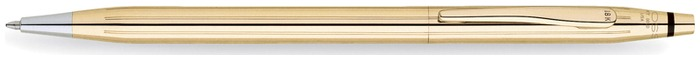 Cross Ballpoint pen, Classic Century series Solid Gold 18kt
