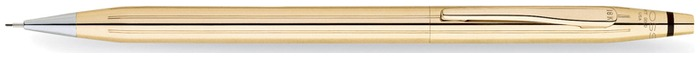 Cross Mechanical pencil, Classic Century series Solid Gold 18kt (0.7mm)