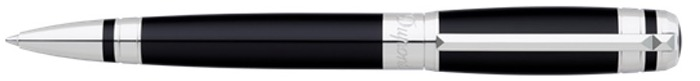 Dupont, S.T. Ballpoint pen, Elysée series Black Chinese lacquer (Ring)