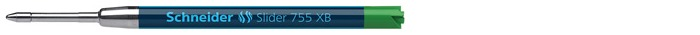 Schneider  Gel refill for ballpoint pen, Refill & ink series Green ink