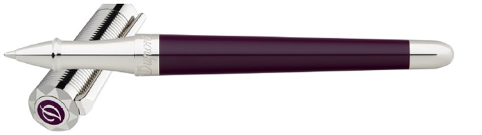 Dupont, S.T. Roller ball, Liberté series Purple/Palladium