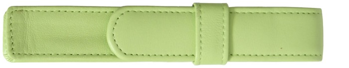 Royce Leather Pouch, Pen Cases series Light green (1)