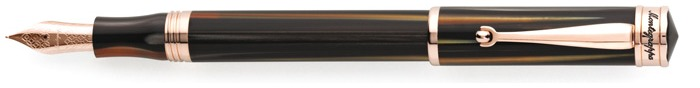 Montegrappa Fountain pen, Ducale series Brown PGT