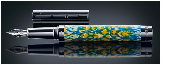 Staedtler Fountain pen, The Season by Lisa Pavelka Limited Edition series Multicolor