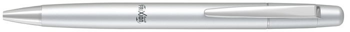 Pilot Gel Pen, Frixion Ball Clicker LX series Silvered