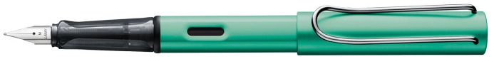 Lamy Fountain pen, AlStar series Blue-Green CT (Without pump)