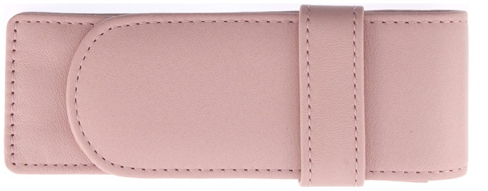 Royce Leather Pouch, Pen Cases series Salmon (2)
