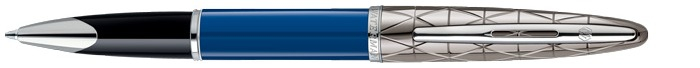 Waterman Roller ball, Carène Deluxe Contemporary series Blue Obsession