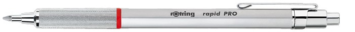 Rotring Ballpoint pen, Rapid PRO series Satin chrome