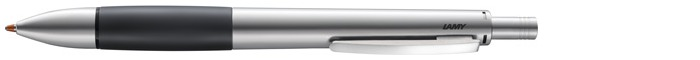 Lamy Multifunction pen, Accent AL series Palladium (Black rubberized grip)