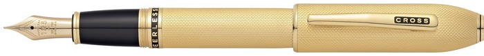 Cross Fountain pen, Peerless 125 series 23kt gold plated