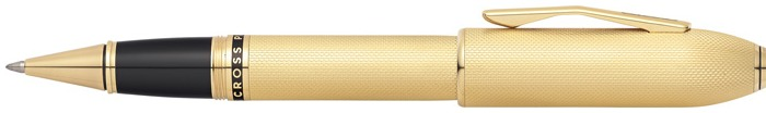 Cross Roller ball, Peerless 125 series 23kt gold plated