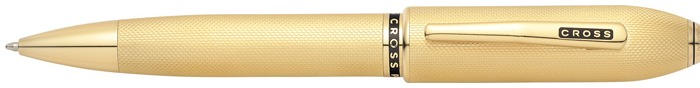 Cross Ballpoint pen, Peerless 125 series 23kt gold plated