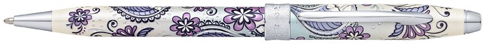 Cross Ballpoint pen, Botanica series Purple orchid