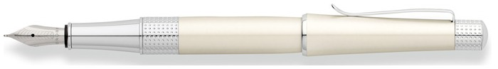 Cross Fountain pen, Beverly series White