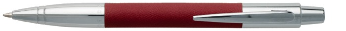 Hugo Boss Ballpoint pen, Saffiano series Red