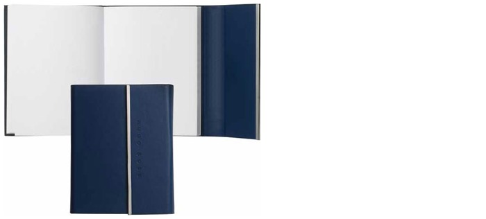 Hugo Boss Note pad, Loop series Blue (A6)