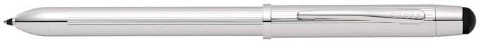 Cross Multifunction pen, Tech-3 series Platinum plated with stylus