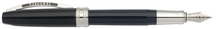 Visconti Fountain pen, Michelangelo series Black CT