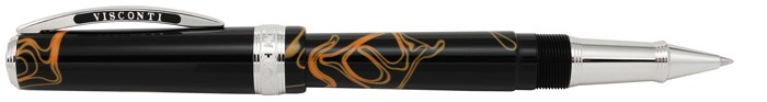 Visconti Roller ball, Manhattan 2016 LTD. Edition series Black & Orange