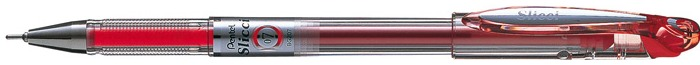 Pentel  Roller ball, Slicci 0.7mm series Red ink