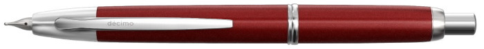 Stylo plume Pilot, série Capless Decimo Retractable Rouge