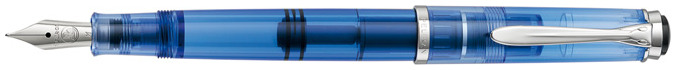 Pelikan Fountain pen, M205 Demonstrator Transparent Blue Special Edition series
