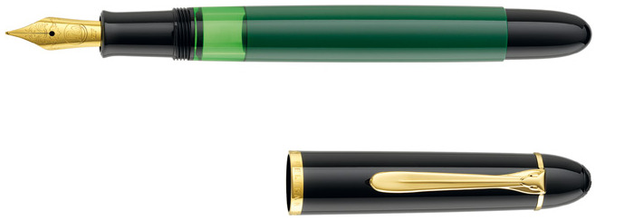 Pelikan Fountain pen, M120 Green Black Special Edition series