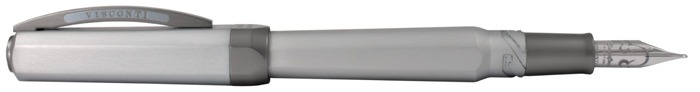 Visconti Fountain pen, Opera Metal series Silvered/Gray (Silver Shadow)