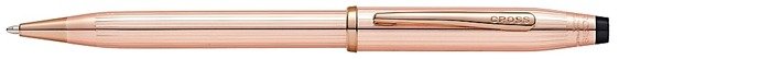 Cross Ballpoint pen, Century II series 14kt gold