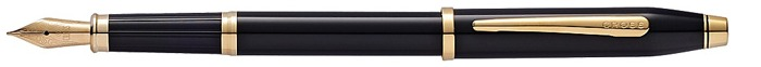 Cross Fountain pen, Century II series Black lacquer Gt