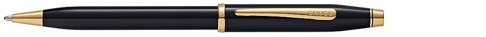 Cross Ballpoint pen, Century II series Black lacquer Gt